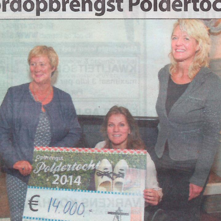 Recordopbrengst Kaag en Braassem Poldertocht Witte Weekblad 10-10-14