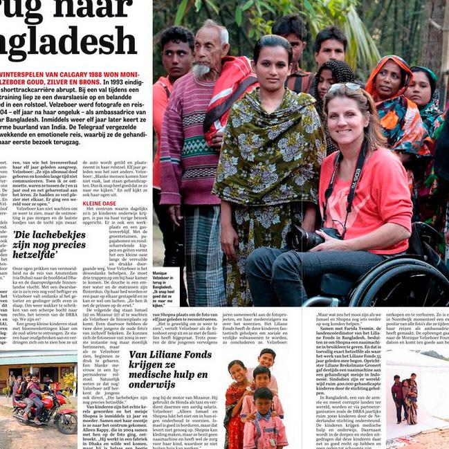 Terug naar Bangladesh  Telegraaf  24-05-15