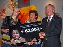 630 kinderen 22 april 2011 Donderdag 21 april 2011 ontving Kees van den Broek, een donatie van maar liefst € 82.000...