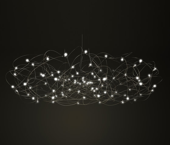Quasar Universe Curled chandelier