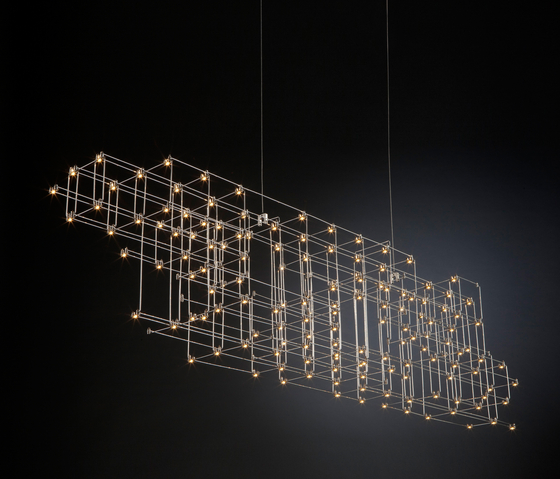 Orion chandelier by Jan Pauwels for Quasar
