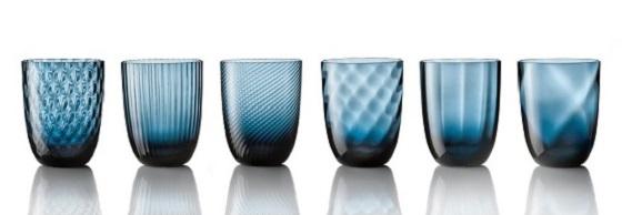 Idra Murano glass tumblers Nason Moretti