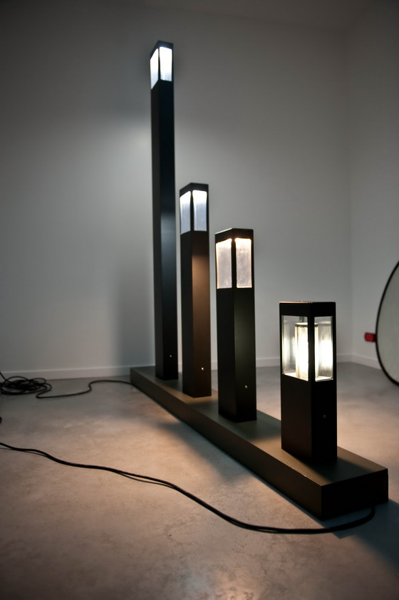 Roger Pradier illuminated bollards