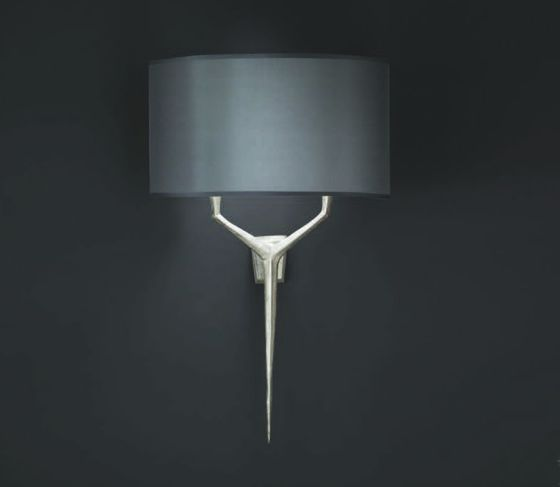 Objet Insolite Alix wall light in nickel