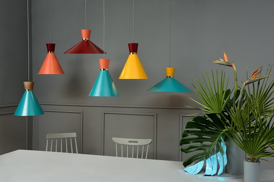 [dot]heno pendant lights from Raco