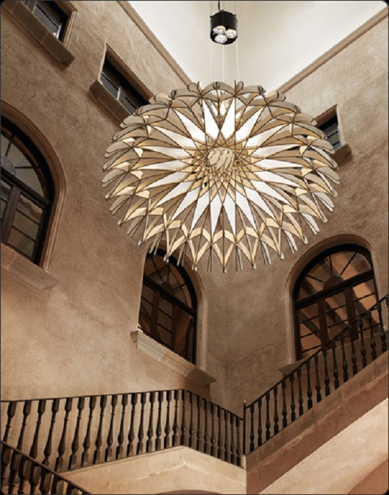 Dome pendant light by Tagliabue for Bover
