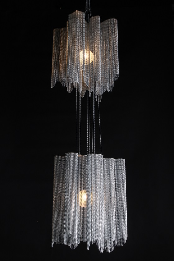 Willowlamp A Peal double pendant light