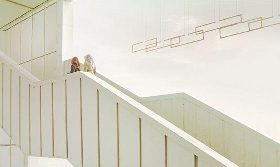 Inarchi Frame horizontal lighting installation