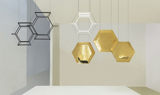 Inarchi Hexan pendant light composition