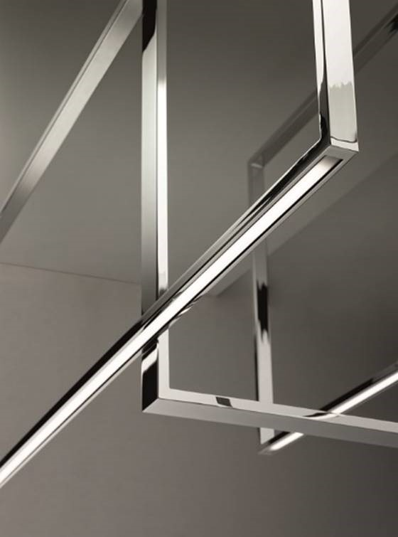 Venice M's Mondrian LED ceiling light fixture detail