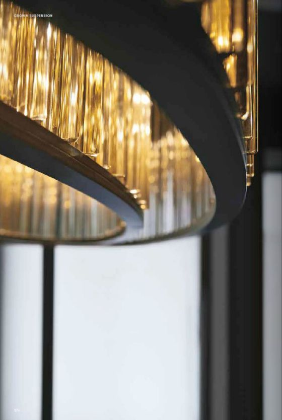 Venice M Crown Suspension light detail