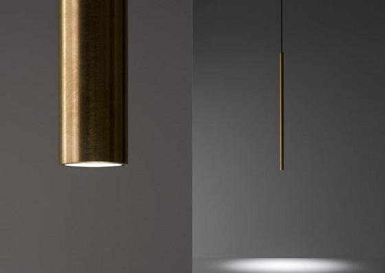 Davide Groppi Miss 1 pendant light in brass