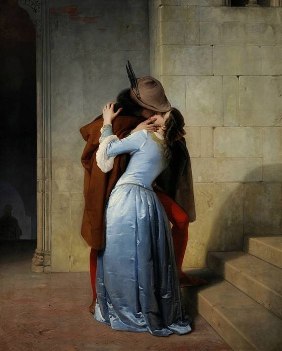The Kiss Francesco Hayez