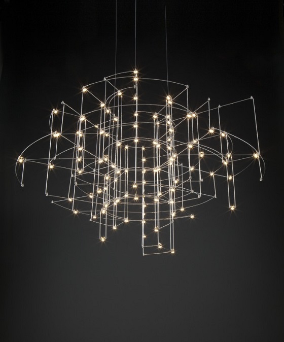 Quasar Spectre contemporary chandelier