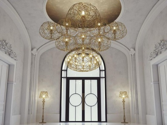 Artelier C Haute Couture Carbon Apus in entrance hall