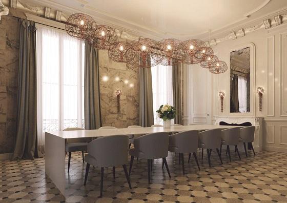 Artelier C Haute Couture Carbon Apus in meeting room