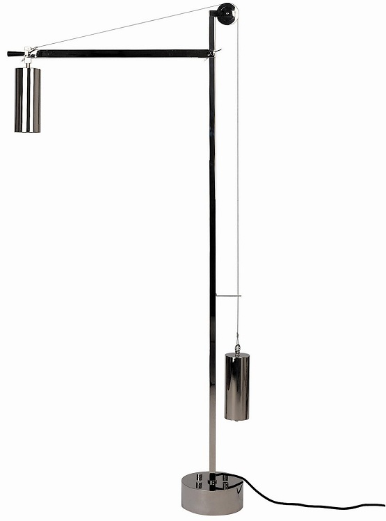 BH23. Bauhaus floor light from Tecnolumen