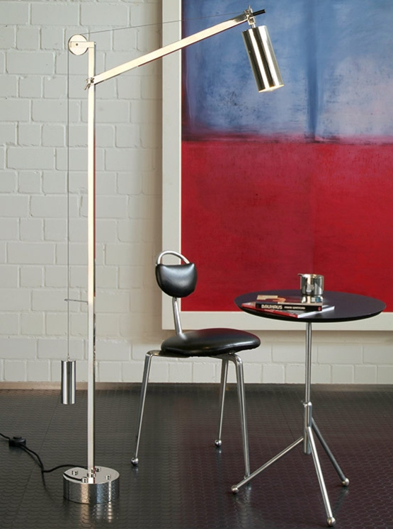 bh23 Bauhaus floor light from Tecnolumen