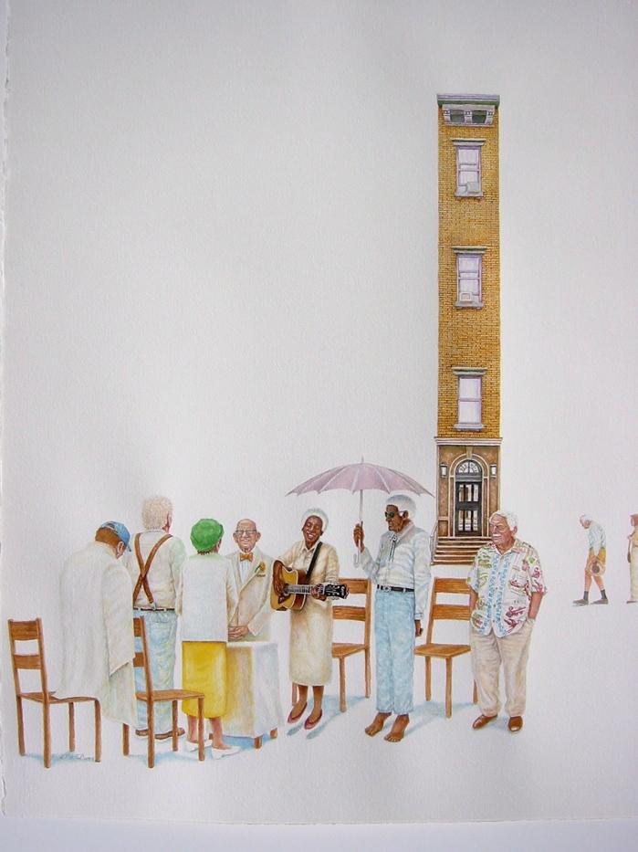 Heavens Gate  2007  30x20  watercolor