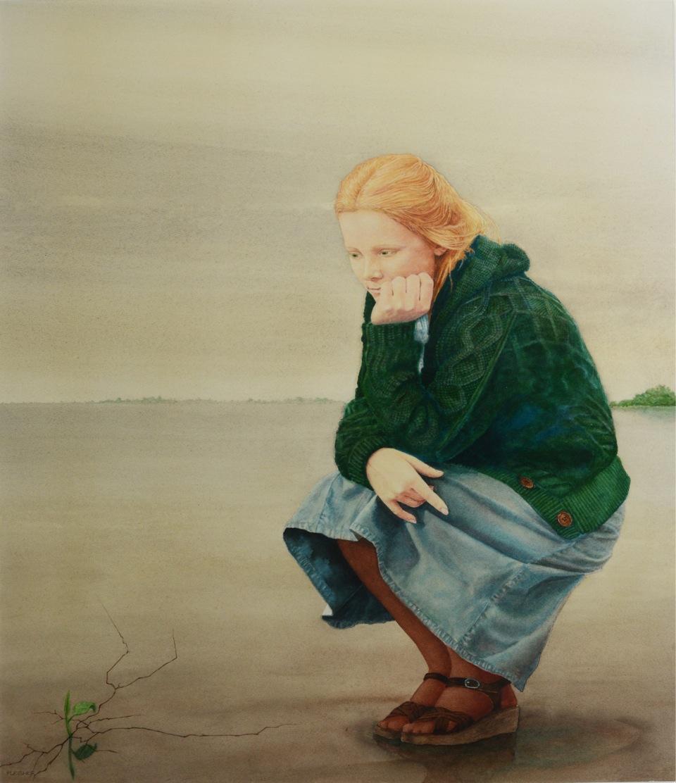 Judy    1976   30x22  watercolor