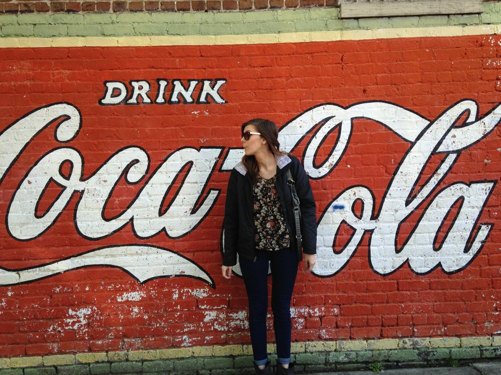Gotta snag a picture with my beloved Coca-Cola! <3