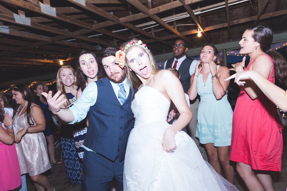 No one gets a say on your marriage. Only you. But it's nice to have goofy people to dance with you.