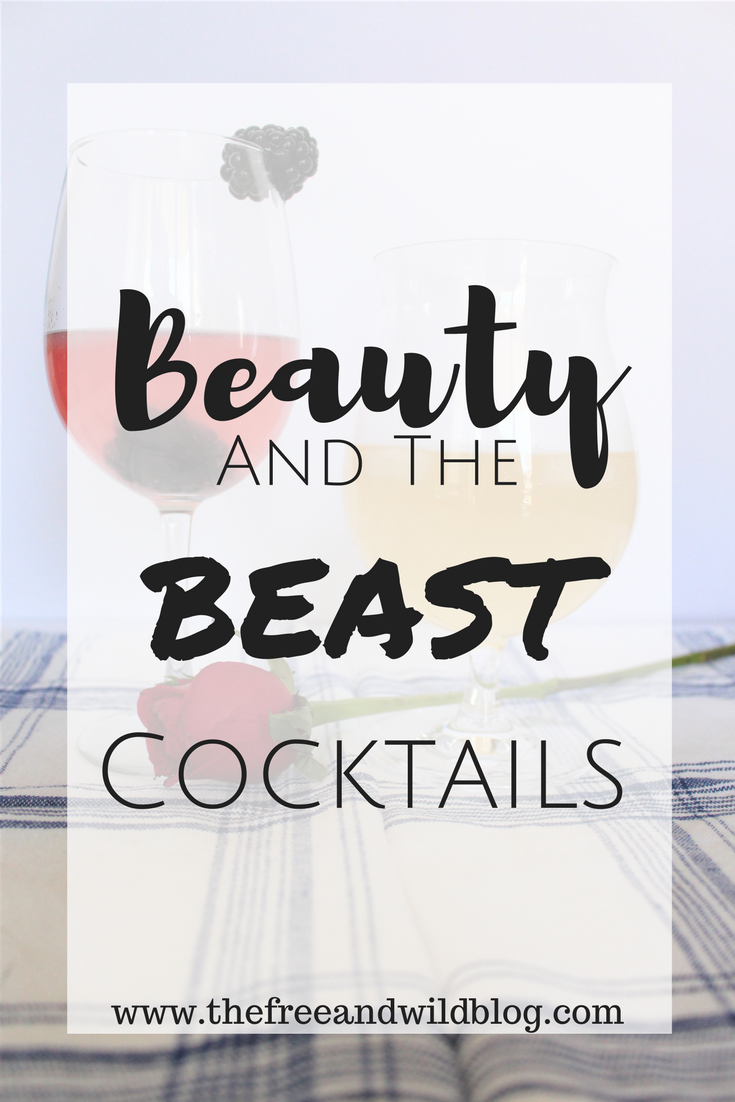 Beauty & The Beast Cocktails // The Free & Wild Blog