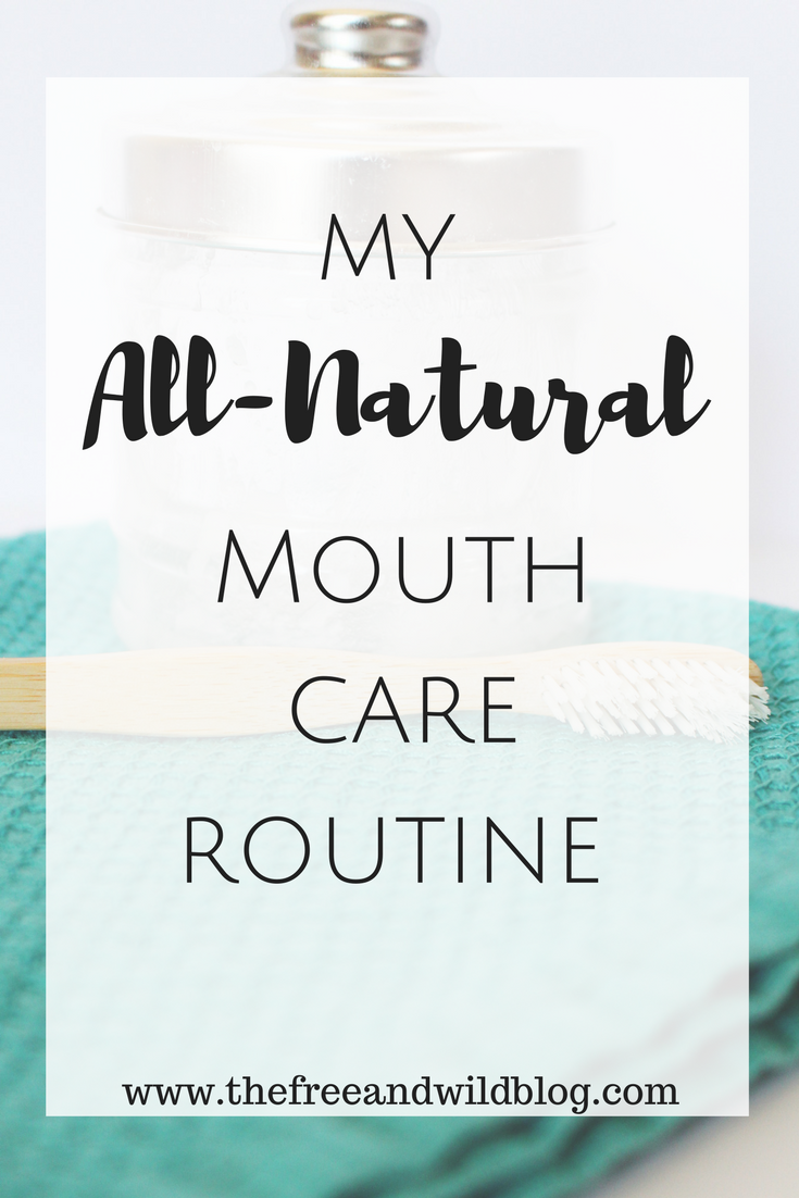 My All-Natural Mouth Care Routine // The Free & Wild Blog