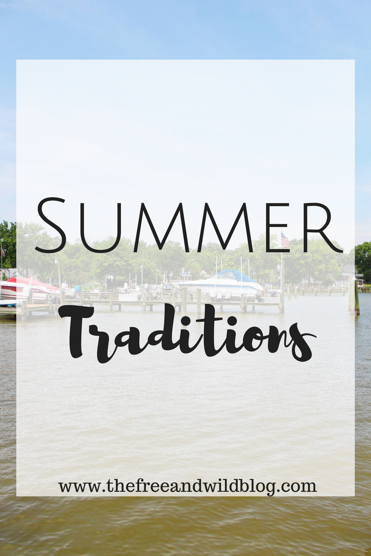 Summer Traditions //  The Free & Wild Blog #SnackSnapShare #SnackStories