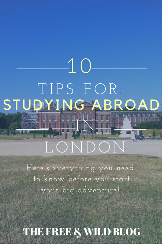 10 Tips for Studying Abroad in London