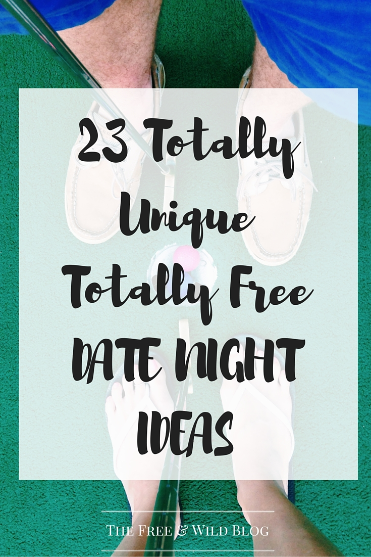 23 Totally Free Unique Date Nights
