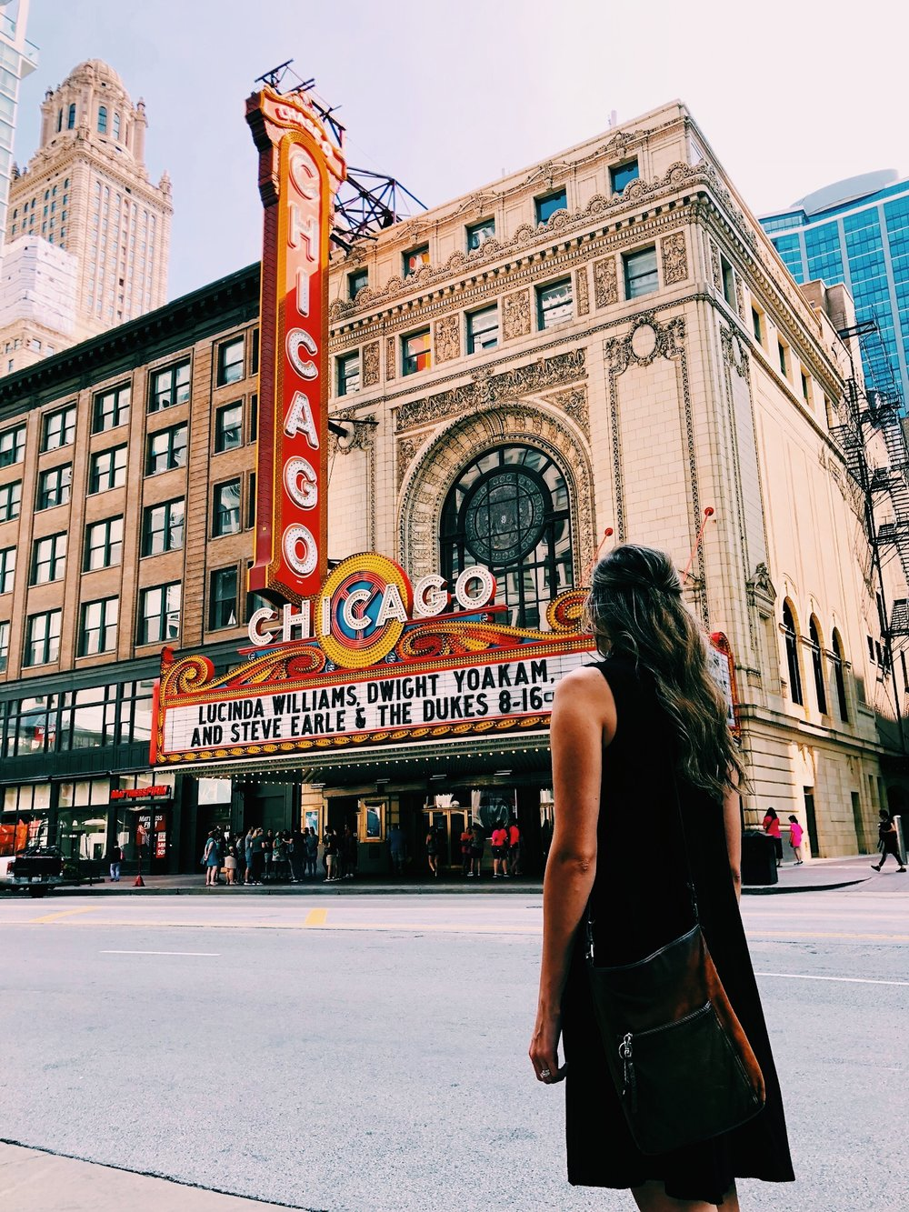 seeing a show at the chicago theater is a bucket list item for me…but the budget didn't make it work this time! oh well, guess we have a reason to go back!