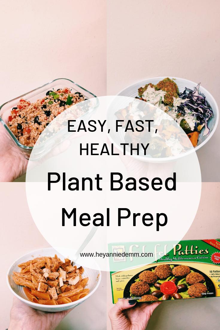 Plant Based Meal Plan // Hey Annie Demm