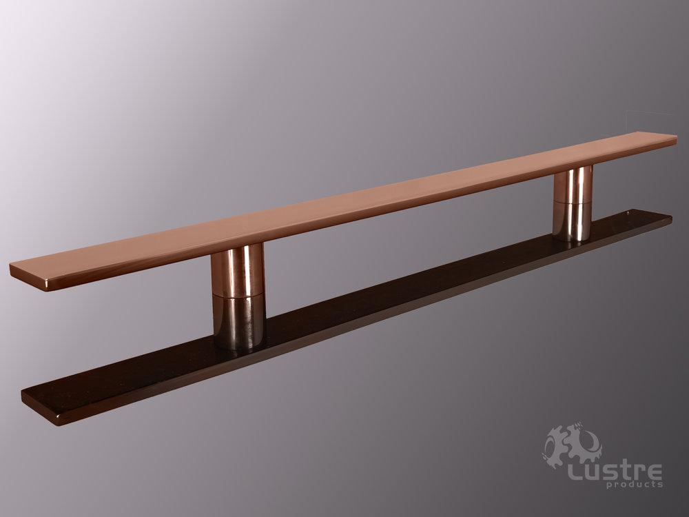 """1.5"""" Flat Copper #8 - Polished"""