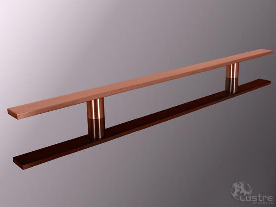 "1.5"" Flat Copper #4 - Brushed"