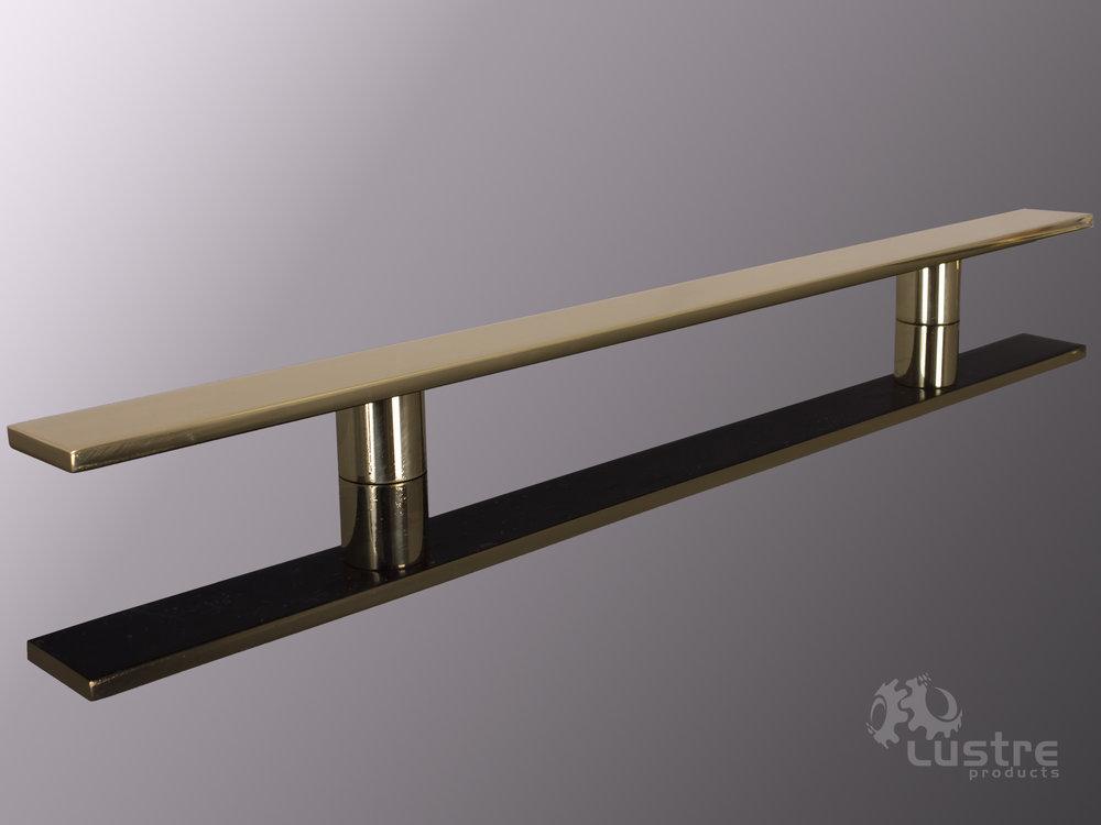 "1.5"" Flat Bronze #8 - Polished"