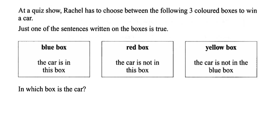 quiz show red car