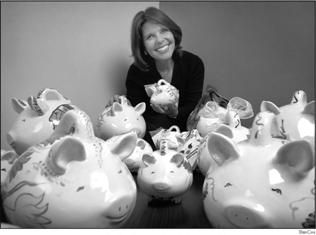 Sarah Pope, founder of PiggyBank Express ®.