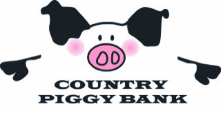 Country Piggy Bank