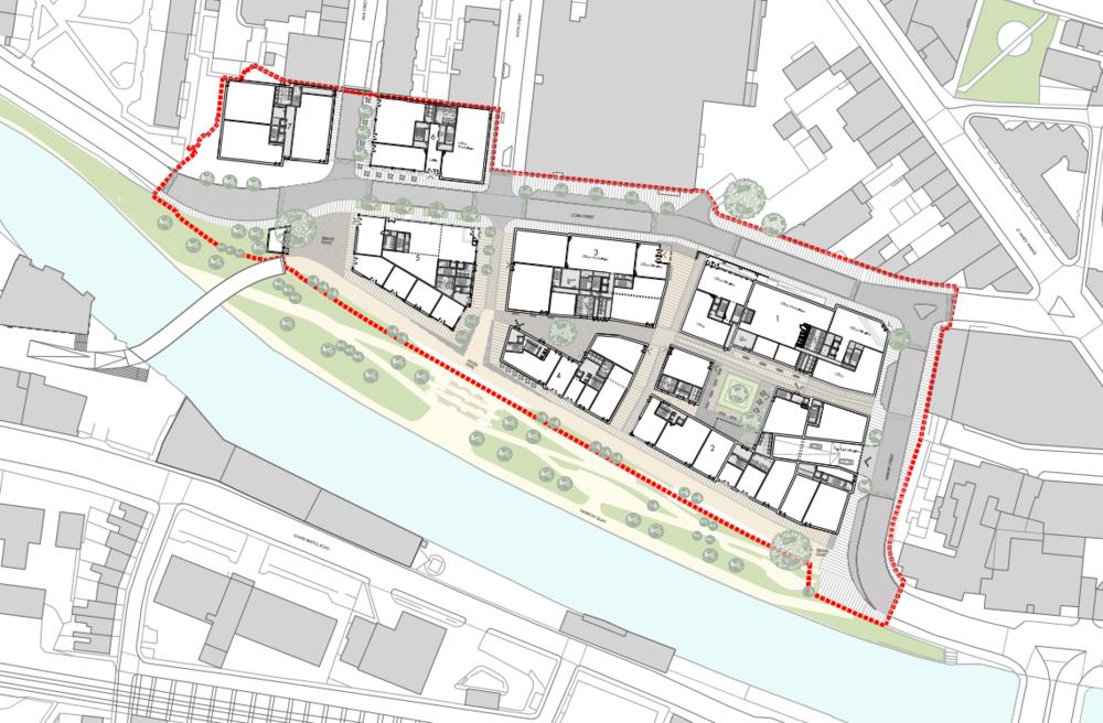 Bath Quays North Illustrative Masterplan