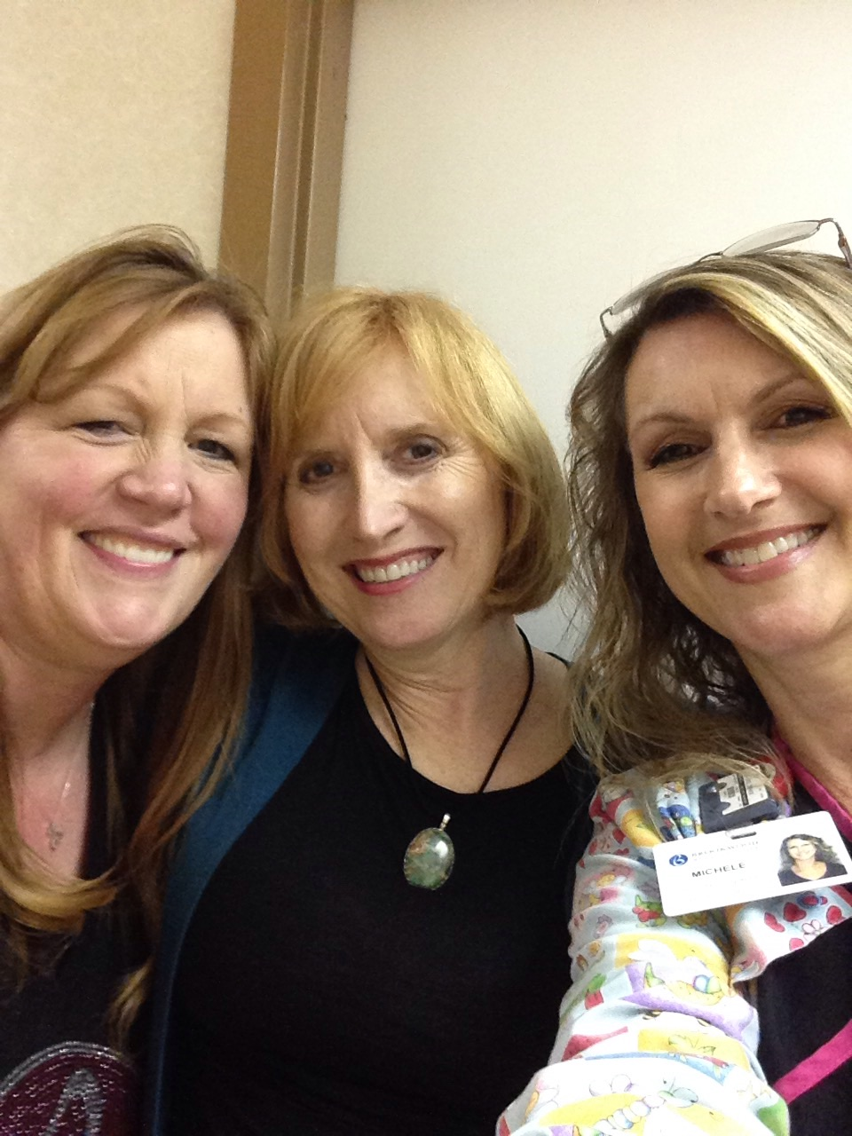Marcia, Michelle and me