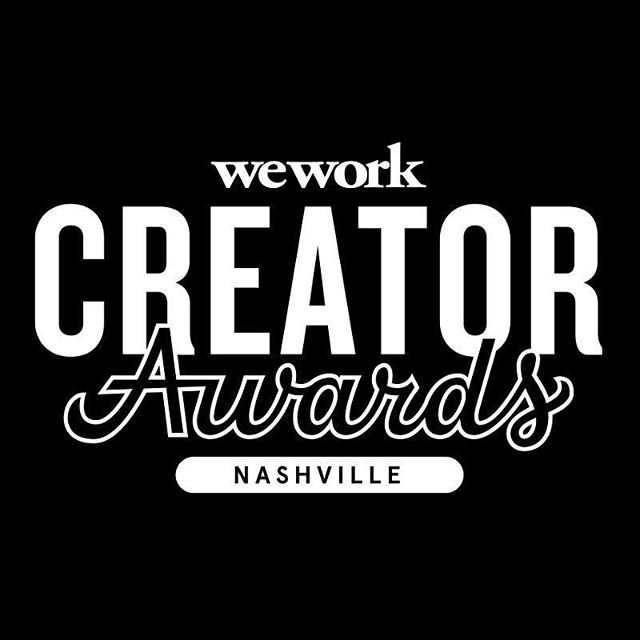 Out of a pool of over 1,700 applicants from the Unites States, Puerto Rico, and Canada - We are super excited to share we are finalists in the @wework @creatorawards! . Thrilled to be pitching to judges alongside five other talented and innovative finalists come September 13th in Nashville, Tennessee . We'd loved your support. Find link in bio to RSVP!