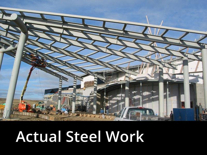 Actual Steel Work