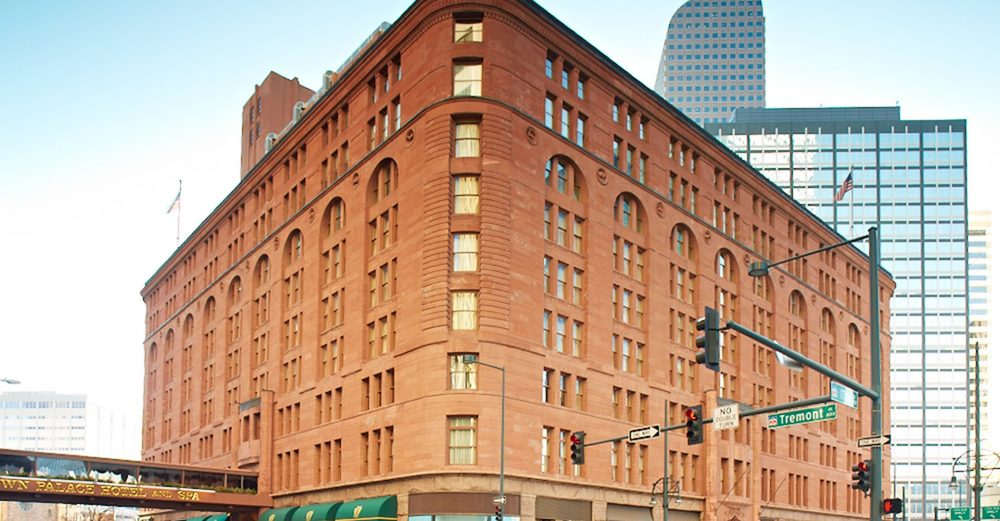 The Brown Palace in Downtown Denver, CO was opened in 1892.(photo:www.brownpalace.com)