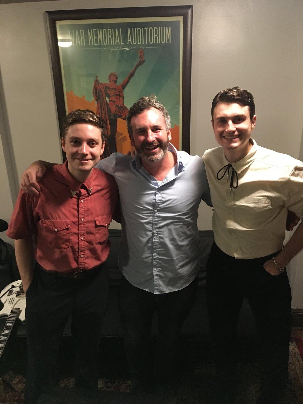 Rupert, Ben and Henry