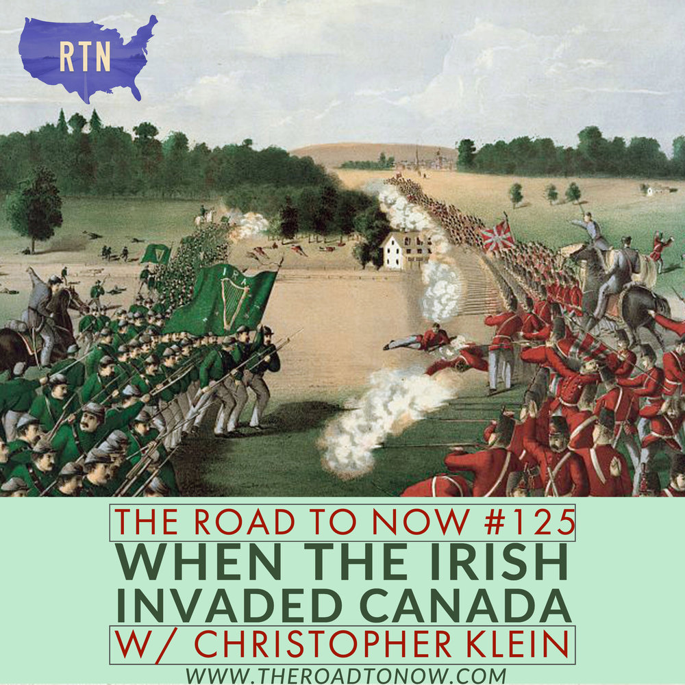 The image used in the graphic above is from an 1868 lithograph. The Irish troops, however, did not wear green uniforms; most wore whatever they had and many simply wore their former US or Confederate Army uniforms from the Civil War.