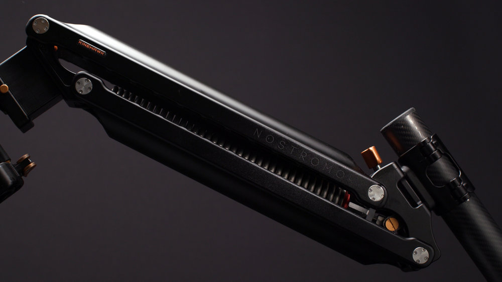 Nostromo Arm in profile.