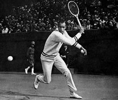 Bill Tilden's backhand