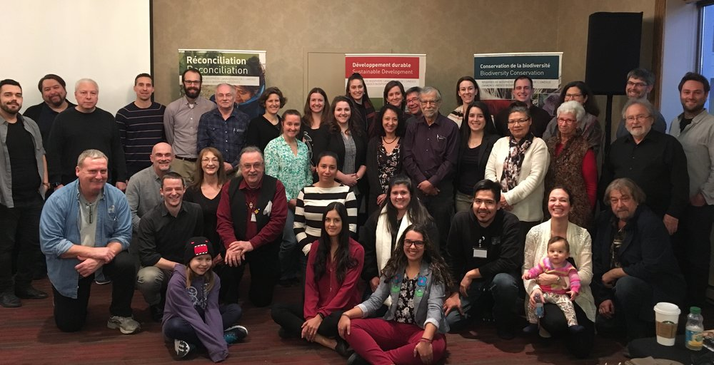 CBRA staff, volunteers, and Indigenous delegates gathered in Ottawa from February 20-22, 2018