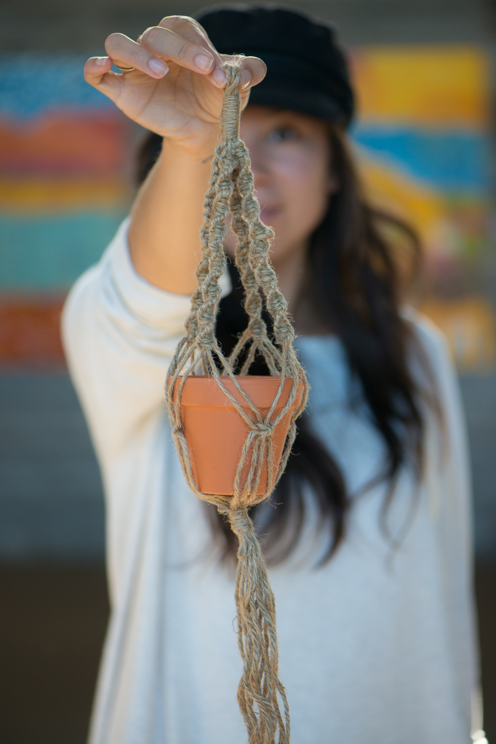 Jenna Lane will be teaching plant hanger crafts on saturday august 13th, 2016 at the tourist information centre in cardston